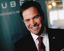 Marco Rubio Signed 8x10 Inch Photo GOP 2016 Presidential Nominee Proof Senator