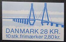 Denmark 1985 Faro Bridges Booklet. MNH.
