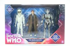 "DOCTOR WHO set THE TENTH DOCTOR 6"" action figure Vashta Nerada Cyberman toys NEW"
