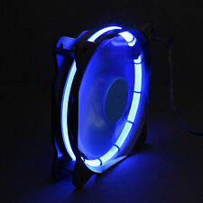 Sphere 120mm LED RING ventola chassis - 1200 RPM-Modding Case Fan-Blu, Blue