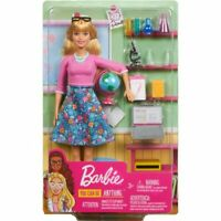 Barbie Teacher Career Doll You Can Be Anything Gift Set w/10 Accessories NEW