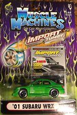 Muscle Machines Import Tuner '01 Subaru WRX 1:64 Scale
