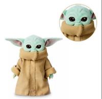 25CM Baby Yoda The Mandalorian Force Awakens Master Stuffed Doll Plush Toys