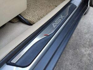 For Mitsubishi ASX Auto Accessories 2010 2020 Door Sill Protector Scuff plate
