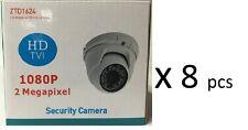HD TVI 1080P Dome Camera 2MP 1/3 SONY 3.6mm Lens, 18 IR, USA New 8x HD Cameras
