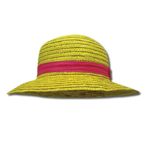 One Piece Luffy Cosplay Straw Hat Anime Licensed NEW