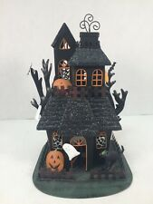 Haunted House Candle Holder Metal Halloween Tealight Kohl's