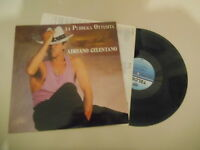 LP Pop Adriano Celentano - La Pubblica Ottusita (8 Song)  TELDEC CLAN / OIS