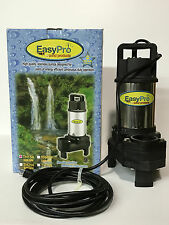 EasyPro TH150 3100 GPH Stainless Steel Submersible Pond Pump