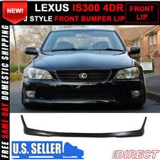 For 01-05 Lexus Is300 Altezza Sxe10 Tr Style Front Bumper Lip Spoiler