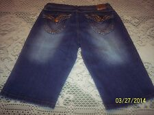 South Pole Jean Shorts -  Sz 7 Juniors - Very Good Condition