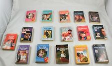 Lot of 14 Harlequin Intrigue & 2 Silolette Shadows Paperback Romance Novels m5o4