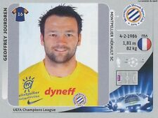 N°139 JOURDREN # FRANCE MONTPELLIER.SC HSC CHAMPIONS LEAGUE 2013 STICKER PANINI