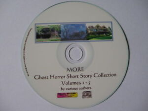 MORE Short Ghost & Horror Unabridged Audiobook Collection 74 stories Mp3 CD