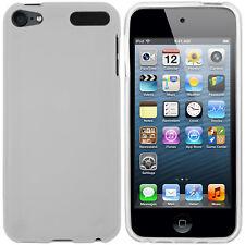 mumbi Hülle für Apple iPod Touch 5G 6G Schutzhülle Case Tasche transparent weiß