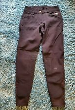 Womens Breeches 24R Smartpak Piper fleece lined horse riding pants equestrian