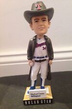 Nolan Ryan 2013 Texas Rangers SGA Bobblehead, Cowboy Hat, Angels, Astros, Mets