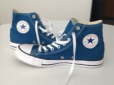 CONVERSE CHUCK TAYLOR ALL STARS high top sneakers shoes TEAL - Size M8 / W10