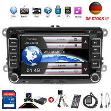 2DIN Autoradio GPS Navi DVD Bluetooth Für VW GOLF 5 PASSAT POLO Caddy + Kamera