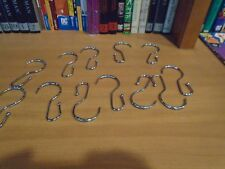 Shower Curtain rings Mainstays polished nickel glides easily 12 set