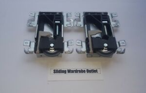 2X Spacepro/Stanley 17-4264Y-000 TA C2-8 Sliding Wardrobe Wheels / Runner/Guides
