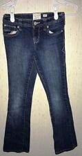 Old Navy Girls Boot-Cut Stretch Denim Jeans Low Rise Youth Size 10 Slim