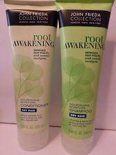 John Frieda Root Awakening Nourishing Dry Hair 1 Shampoo 1 Conditioner 8.45oz