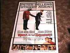 WALTZ OF TOREADORS MOVIE POSTER 1962 PETER SELLERS