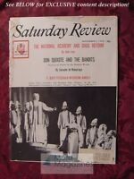 Saturday Review November 5 1960 F. SCOTT FITZGERALD NABUCCO Elmo Roper