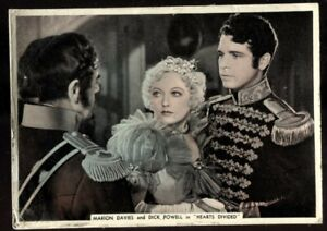 Tobacco Card, Ardath, FROM SCREEN & STAGE, 1936,XL,Marion Davies,Dick Powell,#41