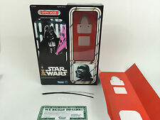"brand new star wars 12""  darth vader box + inserts"