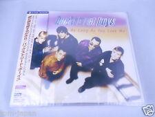 NEW backstreet Boys As Long As You Love Me  Japanese OBI  Japan CD  SUPER RARE