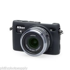 easyCover Armor Protective Skin for Nikon 1 S2 (Black) -> Bump Protection