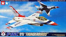 """Tamiya 61102 F-16C (Block 32/52) """"Thunderbirds"""" 1/48 scale kit"""
