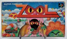 Zool - Super Famicom SFC Nintendo NTSC Hong Kong HK version bootleg 1993 RARE !!