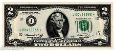 Etats UNIS AMERIQUE USA Billet 2 $ Dollars 1976 * STAR J KANSAS CITY UNC  NEUF