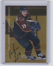 99-00 1999-00 BE A PLAYER MILLENNIUM NELSON EMERSON AUTOGRAPH GOLD 17 THRASHERS
