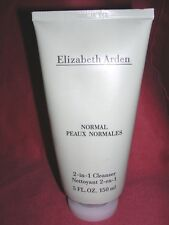 Elizabeth Arden 2 in 1 Cleanser NORMAL Skin Cleanser 3.3 oz / 100 ml NWOB