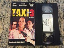 TAXI PARA TRES 3 RARE VHS 2001 SPANISH COMEDY ALEJANDRO TREJO, DANIEL MUNOZ HTF!