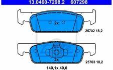 4x ATE Plaquettes de Frein Avant pour RENAULT CLIO TWINGO 13.0460-7298.2