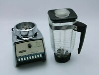 VTG Osterizer Galaxie Ten Liquefying Blender Rare model Retro 50-60s Heavy Duty