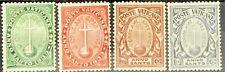Vatican City #B1-B4 MNH CV$190.00 Cross and Orb