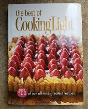 The Best of Cooking Light Cookbook Hardcover 2005 Diet 500 Recipes Healthy