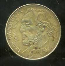 10 francs  1982 GAMBETTA  ( frappe décalé )