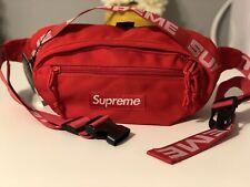 🔥Brand New Supreme Red Waist/Shoulder Bag Fanny Pack for Women & Men Unisex