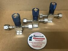 LOT OF 3 FLOWLINK 947328 955717 946789 1/2 IN FVCR REGULATOR VALVE SHIPSAMEDAY