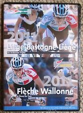 2011 Liege-Bastogne-Liege Fleche-Wallonie World Cycling Productions 2 DVD New