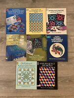 Lot of 11 Dover Needlework Series / Design Library Template Transfer Quilt Books
