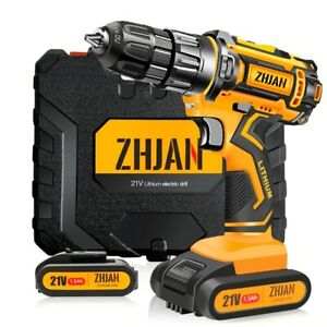 21V Electric Screwdriver Battery Impact Drill Brushless Cordless Impact Drive
