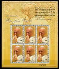 Palau 2005 Papst Johannes Paul II. Pope John Paul 2502 Kleinbogen Postfrisch MNH